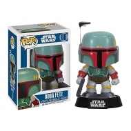 Star Wars - Figurine POP! Bobble Head Boba Fett 10 cm