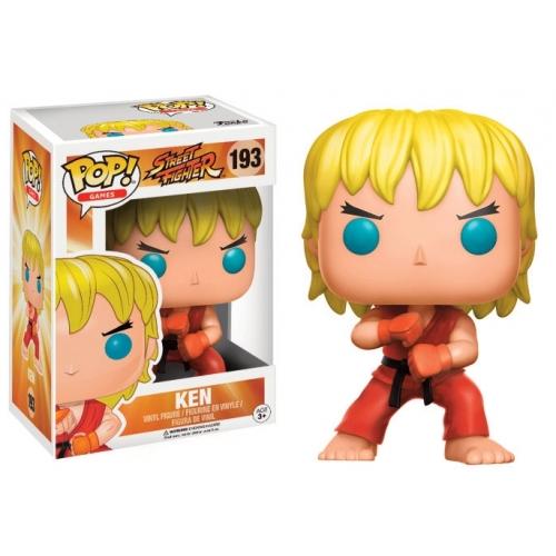 Street Fighter - Figurine POP! Ken (Special Attack) 9 cm