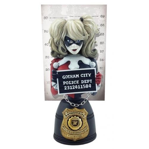 DC Comics - Buste Mugshot Harley Quinn 19 cm