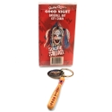 Suicide Squad - Porte-clés batte de baseball de Harley Quinn Good Night