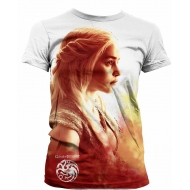 Game of Thrones - T-Shirt femme Sublimation Daenerys Heatwave