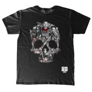 Walking Dead - T-Shirt Skull Montage