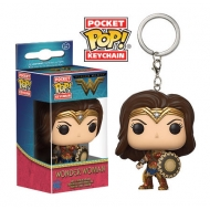 DC Comics - Porte-clés Pocket POP! Wonder Woman 4 cm