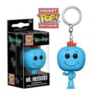 Rick et Morty - Porte-clés Pocket POP! Mr. Meeseeks 4 cm