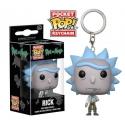 Rick et Morty - Porte-clés Pocket POP! Rick 4 cm
