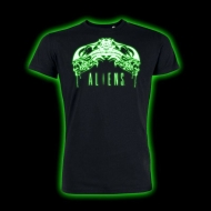 Alien - T-Shirt Tribal Glow In The Dark
