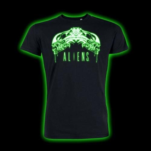 Alien - T-Shirt Tribal Glow In The Dark