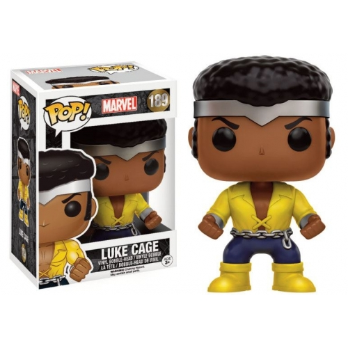 Marvel Comics - Figurine POP! Bobble Head Luke Cage 9 cm