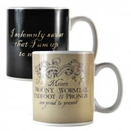 Harry Potter - Mug décor thermique Marauder's Map