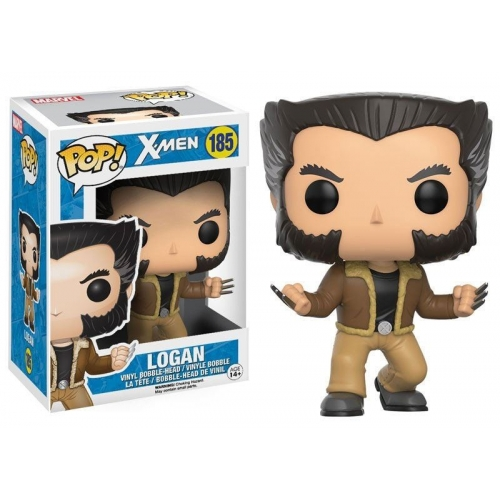 X-Men - Figurine POP! Bobble Head Logan 9 cm