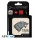 Game Of Thrones - Set 4 Dessous de verre emblème