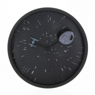 Star Wars - Horloge Star Wars Death Star & TIE-Fighter DT