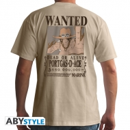 One Piece - T-shirt homme Wanted Ace