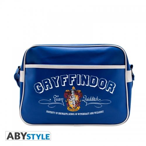 Harry Potter - Sac Besace Gryffondor bleu