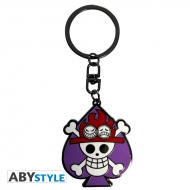 One Piece - Porte-clés Skull Ace