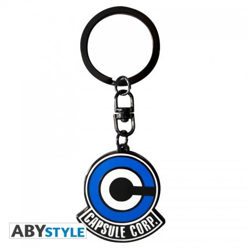 Dragon Ball - Porte-clés Emblême Capsule Corp