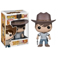The Walking Dead - Figurine POP! Carl 10 cm