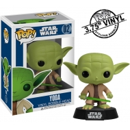 Star Wars - Figurine POP! Bobble Head Yoda 10 cm