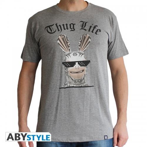 Lapins Cretins - Tshirt Thug Life sport