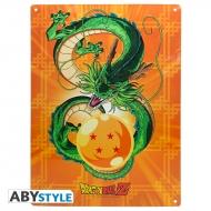 Dragon Ball - Plaque métal Shenron (28x38)