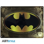 Batman - Plaque métal Batman (28x38)