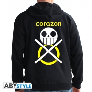One Piece - Sweat homme black Corazon