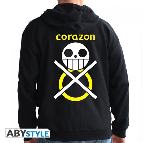 One Piece - Sweat homme black Corazon