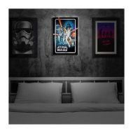 Star Wars - Affiche Luminart Star Wars Ep IV : A New Hope
