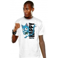 Fairy Tail - T-Shirt Happy Blue