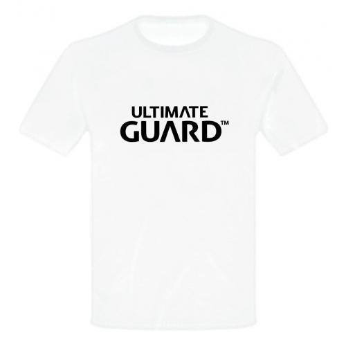 Ultimate Guard - T-Shirt Wordmark Blanc