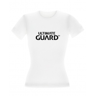 Ultimate Guard - T-Shirt femme Wordmark Blanc