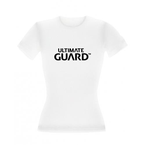 Ultimate Guard - T-Shirt femme Wordmark Blanc