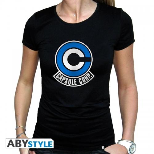 Dragon Ball - Tshirt femme Capsule Corp