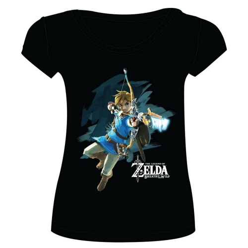 4c7171de6ee The Legend of Zelda Breath of the Wild - T-Shirt femme Link with Arrow