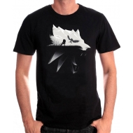 The Witcher - T-Shirt Wolf Silhouette