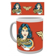 Wonder Woman - Mug Face