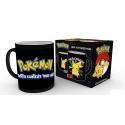 Pokemon - Mug décor thermique Pikachu