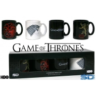 Game of Thrones - Set 4 mini Mug Tasses Expresso