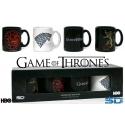 Game of Thrones - Set 4 mini Mug Tasses Expresso