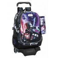 Star Wars - Sac à dos Star Wars 43cm avec son trolley et sa trousse