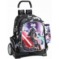 Star Wars - Sac à dos Star Wars 43cm avec trolley et sa trousse