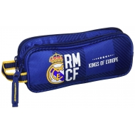 Real Madid -Trousse Real Madrid double compartiments 21cm.