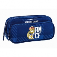 Real Madrid - Trousse Real Madrid double compartiments 21cm.