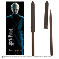 Harry Potter - Set stylo à bille et marque-page Draco Malfoy