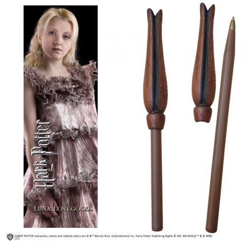 Harry Potter - Set stylo à bille et marque-page Luna