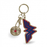 DC Comics -  porte-clés métal Wonder Woman Stars 5 cm
