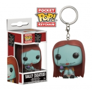 L'étrange Noël de Mr. Jack - Porte-clés Pocket POP! Seated Sally 4 cm