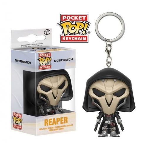 Overwatch - Porte-clés Pocket POP! Reaper 4 cm