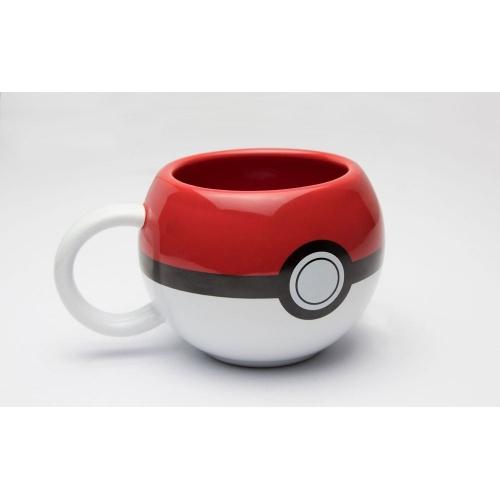 Pokemon - Mug 3D Pokeball