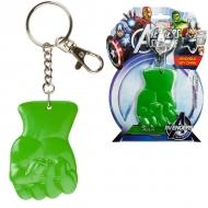 Marvel - Porte-clef Souple Poing Hulk 6cm